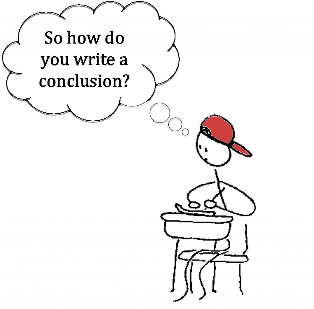 So how don't you write a conclusion?